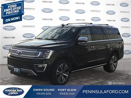2020 Ford Expedition Max Platinum (Stk: 20EP01) in Owen Sound - Image 1 of 27