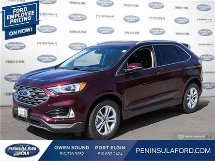 2020 Ford Edge SEL (Stk: 20ED27) in Owen Sound - Image 1 of 24