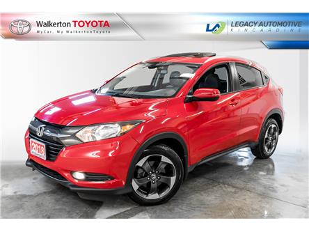 2018 Honda HR-V EX-L (Stk: PL056A) in Walkerton - Image 1 of 20