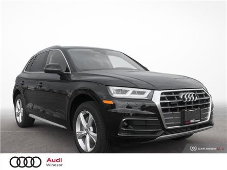 2020 Audi Q5 45 Progressiv (Stk: 9844) in Windsor - Image 1 of 30