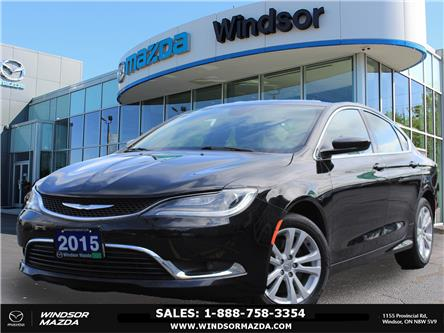 2015 Chrysler 200 Limited (Stk: TR7191) in Windsor - Image 1 of 24