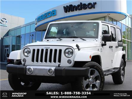 2018 Jeep Wrangler JK Unlimited Sahara (Stk: TR2383) in Windsor - Image 1 of 22