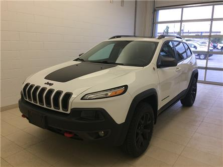 2016 Jeep Cherokee Trailhawk (Stk: 0911A) in Sudbury - Image 1 of 11