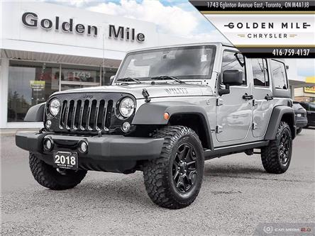 2018 Jeep Wrangler JK Unlimited Sport (Stk: P5054) in North York - Image 1 of 25