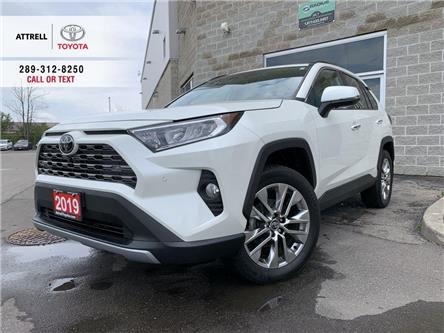 2019 Toyota RAV4 LIMITED AWD LEATHER, SUNROOF, ALLOYS, FOG, NAVI, 3 (Stk: 9096) in Brampton - Image 1 of 25
