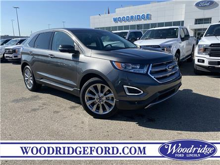 2017 Ford Edge Titanium (Stk: L-1286A) in Calgary - Image 1 of 21