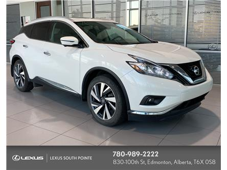 2017 Nissan Murano Platinum (Stk: LL00626A) in Edmonton - Image 1 of 21