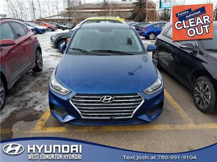 2020 Hyundai Accent Preferred (Stk: AC04629) in Edmonton - Image 1 of 3
