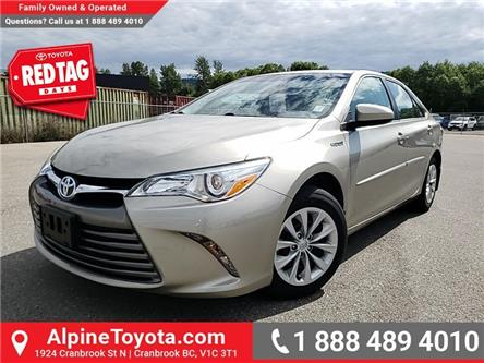 2015 Toyota Camry Hybrid LE (Stk: U533693A) in Cranbrook - Image 1 of 20