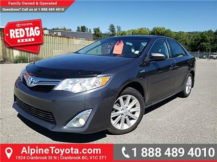 2014 Toyota Camry Hybrid XLE (Stk: U522782A) in Cranbrook - Image 1 of 20