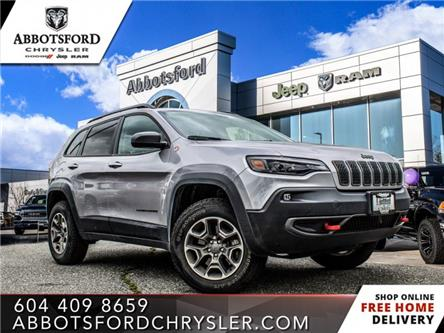2020 Jeep Cherokee Trailhawk (Stk: AB1103) in Abbotsford - Image 1 of 21