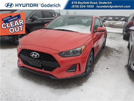 2020 Hyundai Veloster Turbo Manual (Stk: 20064) in Goderich - Image 1 of 2
