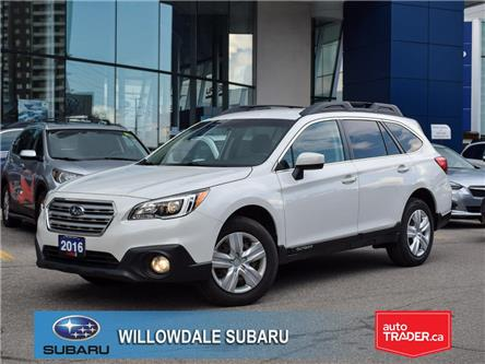 2016 Subaru Outback 2.5i >>No accident and Low mileage<< (Stk: P3261) in Toronto - Image 1 of 26