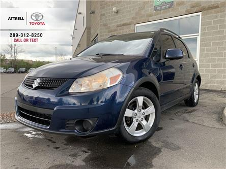 2010 Suzuki SX4 HATCHBACK AWD STEERING WHEEL CONTROLS, ROOF RACK, TINTED WIN (Stk: 47631A) in Brampton - Image 1 of 21