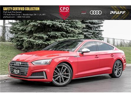 2018 Audi S5 3.0T Progressiv (Stk: C7744) in Woodbridge - Image 1 of 22