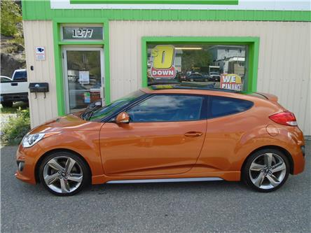 2014 Hyundai Veloster Turbo (Stk: ) in Sudbury - Image 1 of 5