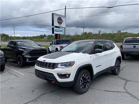 2020 Jeep Compass Trailhawk (Stk: 6016) in Sudbury - Image 1 of 20