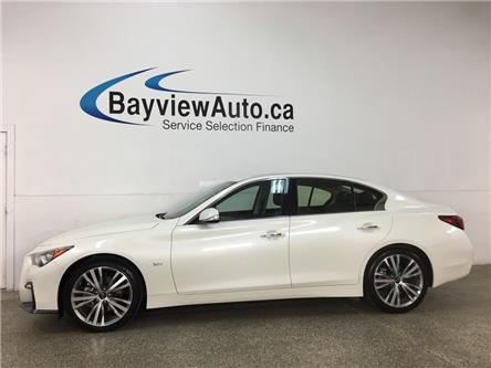 2019 Infiniti Q50 3.0t Signature Edition (Stk: 36981W) in Belleville - Image 1 of 27