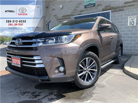 2019 Toyota Highlander XLE LEATHER,RUNNING BOARD,SUNROOF,NAVI,ALLOY,FOG,B (Stk: 47452A) in Brampton - Image 1 of 26
