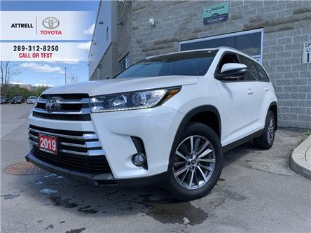 2019 Toyota Highlander XLE LEATHER, SUNROOF, NAVI, ALLOY, FOG LAMPS, BSM, (Stk: 10001) in Brampton - Image 1 of 27