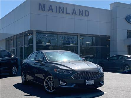 2019 Ford Fusion Hybrid Titanium (Stk: P7279) in Vancouver - Image 1 of 27