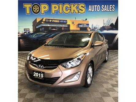 2015 Hyundai Elantra Sport Appearance (Stk: 438573) in NORTH BAY - Image 1 of 24