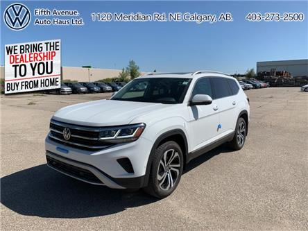 2021 Volkswagen Atlas 3.6 FSI Highline (Stk: 21004) in Calgary - Image 1 of 30
