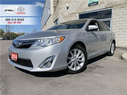 2014 Toyota Camry XLE LEATHER, SUNROOF, ALLOYS, FOG, NAVIGATION, PWR (Stk: 47572A) in Brampton - Image 1 of 25