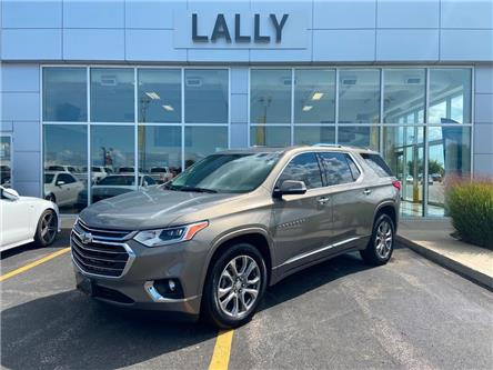 2019 Chevrolet Traverse Moonroof, Leather, Back-up Camera, Heated Seats (Stk: 00148A) in Tilbury - Image 1 of 25