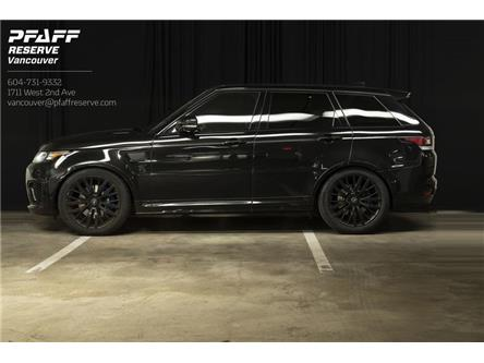 2017 Land Rover Range Rover Sport V8 Supercharged (Stk: PL500058001) in Vancouver - Image 1 of 21