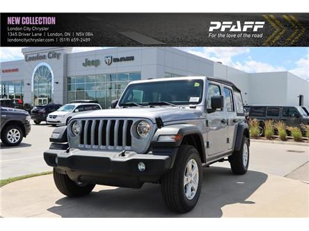 2019 Jeep Wrangler Unlimited Sport (Stk: LC9851) in London - Image 1 of 22