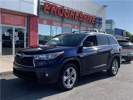2015 Toyota Highlander Hybrid Limited (Stk: FS010320) in Sarnia - Image 1 of 26