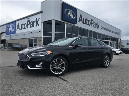 2019 Ford Fusion Hybrid Titanium (Stk: 19-77412RJB) in Barrie - Image 1 of 29
