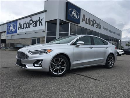 2019 Ford Fusion Hybrid Titanium (Stk: 19-84963RJB) in Barrie - Image 1 of 30