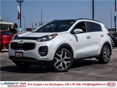 2018 Kia Sportage SX Turbo (Stk: 2485) in Burlington - Image 1 of 28