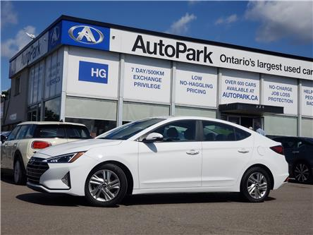 2020 Hyundai Elantra Preferred w/Sun & Safety Package (Stk: 20-99505) in Brampton - Image 1 of 21