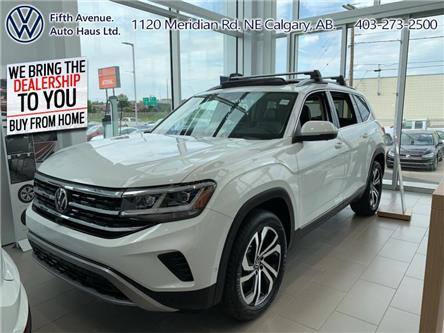 2021 Volkswagen Atlas 3.6 FSI Highline (Stk: 21007) in Calgary - Image 1 of 30