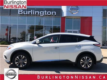 2017 Nissan Murano SL (Stk: Z2146A) in Burlington - Image 1 of 22