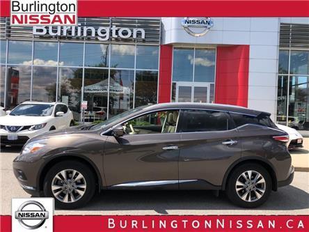 2016 Nissan Murano SL (Stk: Z2166A) in Burlington - Image 1 of 22