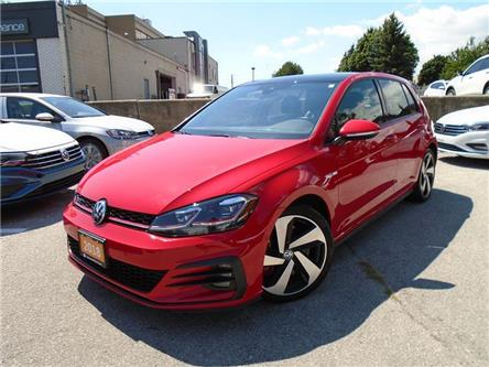 2018 Volkswagen Golf GTI 5-Door Autobahn (Stk: P7509) in Toronto - Image 1 of 21