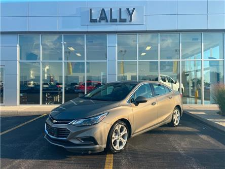 2018 Chevrolet Cruze Leather, Heated Seats, Rev Cam, BT (Stk: 00159A) in Tilbury - Image 1 of 21