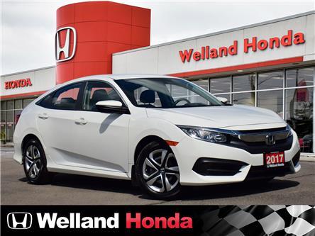 2017 Honda Civic LX (Stk: U6822) in Welland - Image 1 of 21