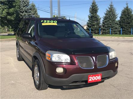 2006 Pontiac Montana SV6 FWD (Stk: L254A) in Grimsby - Image 1 of 14