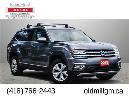 2018 Volkswagen Atlas 3.6 FSI Highline (Stk: 549517U) in Toronto - Image 1 of 27