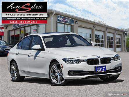 2017 BMW 330i xDrive (Stk: 1X3MW13) in Scarborough - Image 1 of 27