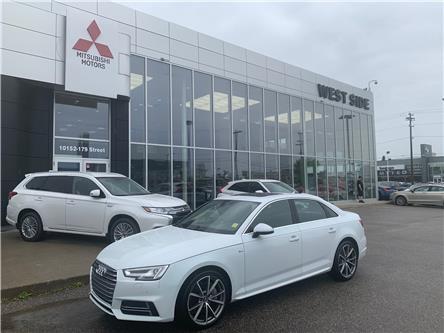 2017 Audi A4 2.0T Technik (Stk: BM3858) in Edmonton - Image 1 of 29