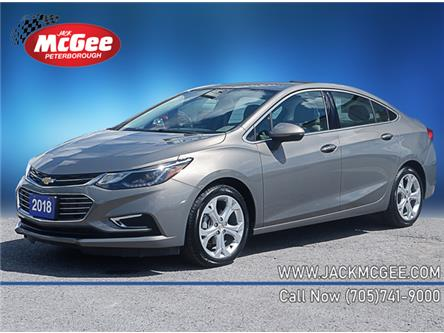 2018 Chevrolet Cruze Premier Auto (Stk: P18915) in Peterborough - Image 1 of 16