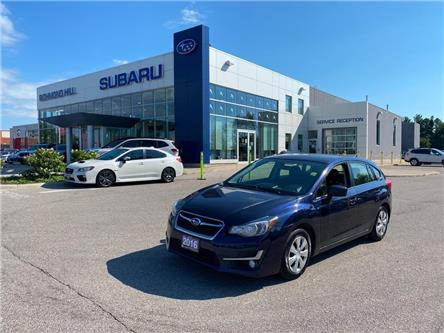 2016 Subaru Impreza  (Stk: P03938) in RICHMOND HILL - Image 1 of 14