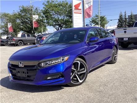 2020 Honda Accord Sport 1.5T (Stk: 20621) in Barrie - Image 1 of 19