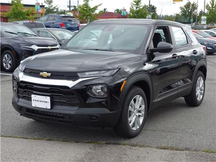 2021 Chevrolet TrailBlazer LS (Stk: 1200100) in Langley City - Image 1 of 6